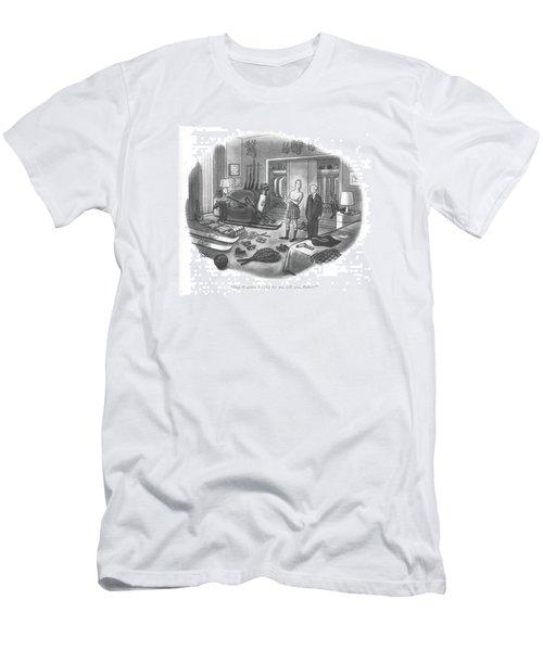 Dial Weather 6-1212 Men's T-Shirt (Athletic Fit)