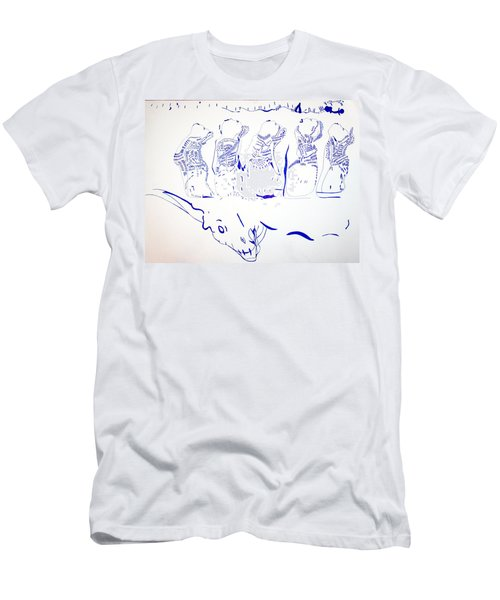 Dinka Wise Virgins -south Sudan Men's T-Shirt (Athletic Fit)
