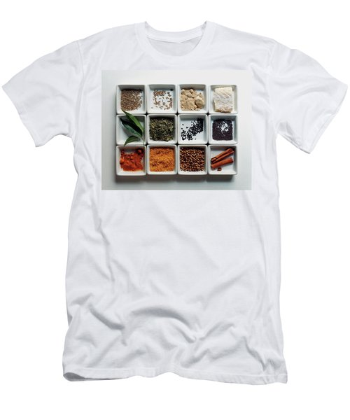 Dishes Of Spices Men's T-Shirt (Athletic Fit)