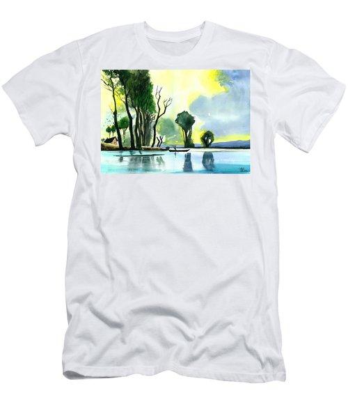 Distant Land Men's T-Shirt (Athletic Fit)