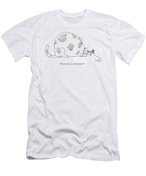 Do You Have A Reservation? Men's T-Shirt (Athletic Fit)