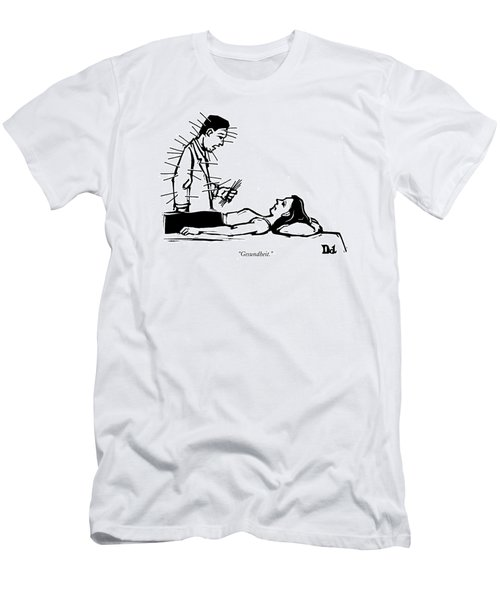 Doctor Has Many Needles Stuck Men's T-Shirt (Athletic Fit)