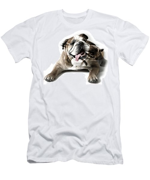 Men's T-Shirt (Slim Fit) featuring the photograph Dog Mastiff by Evgeniy Lankin