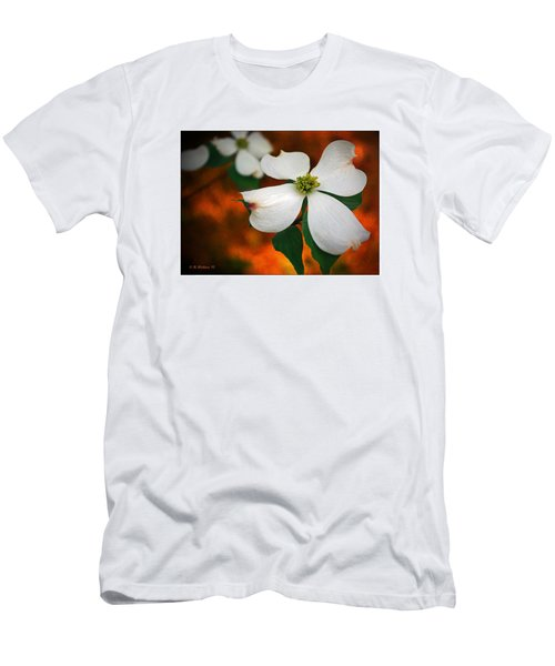 Dogwood Blossom Men's T-Shirt (Athletic Fit)