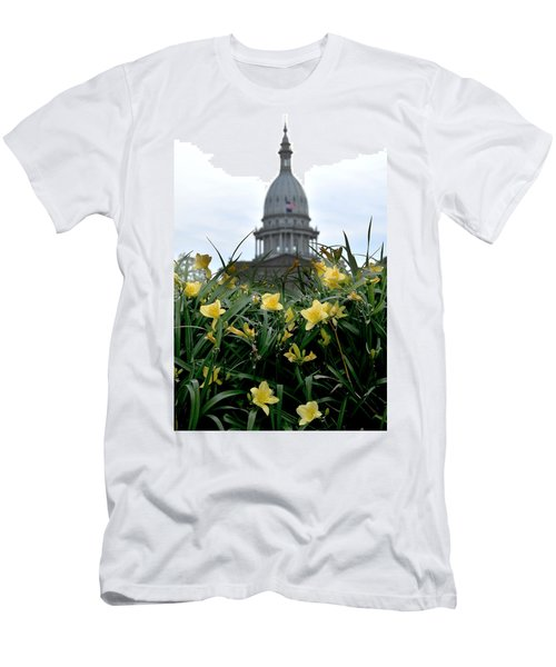 Dome Through The Daffodils Men's T-Shirt (Athletic Fit)