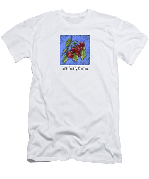 Door County Cherries Men's T-Shirt (Athletic Fit)