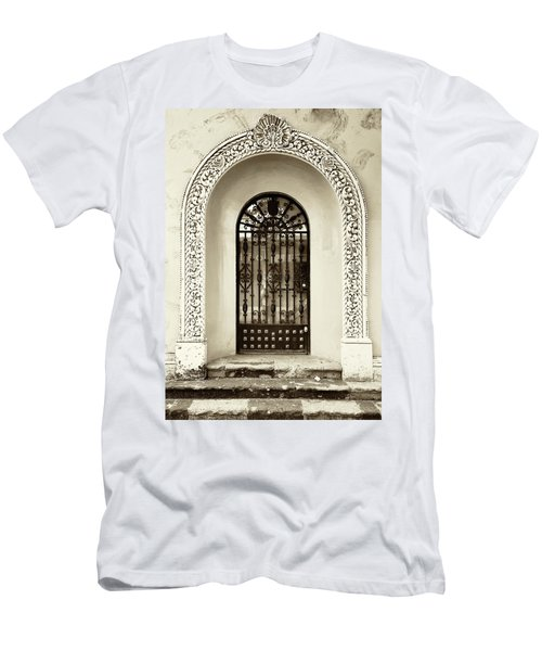 Door With Decorated Arch Men's T-Shirt (Athletic Fit)