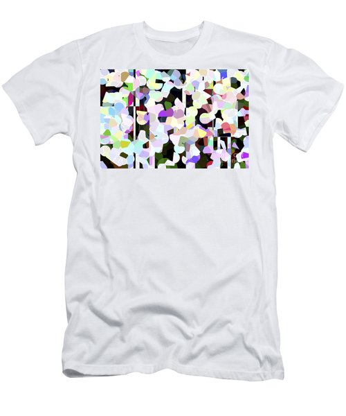 Dotted Car -part 1 Men's T-Shirt (Athletic Fit)