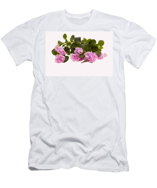 Double Impatiens Men's T-Shirt (Athletic Fit)