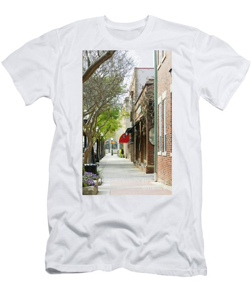 Downtown Aiken South Carolina Men's T-Shirt (Athletic Fit)