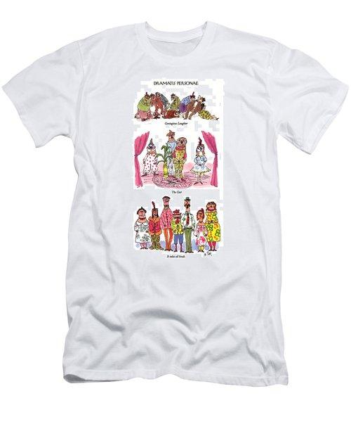 Dramatis Personae Men's T-Shirt (Athletic Fit)