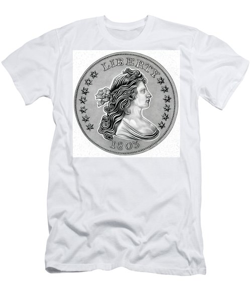 Draped Bust Liberty Men's T-Shirt (Athletic Fit)