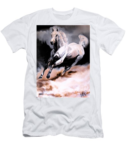 Dream Horse Series 20 - White Lighting Men's T-Shirt (Athletic Fit)