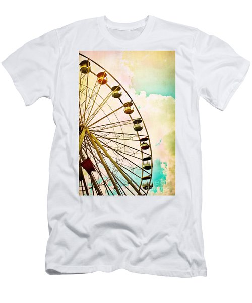 Dreaming Of Summer - Ferris Wheel Men's T-Shirt (Athletic Fit)