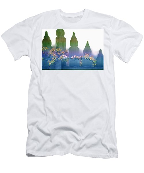 Dreams Of A Picket Fence Men's T-Shirt (Slim Fit) by Holly Kempe