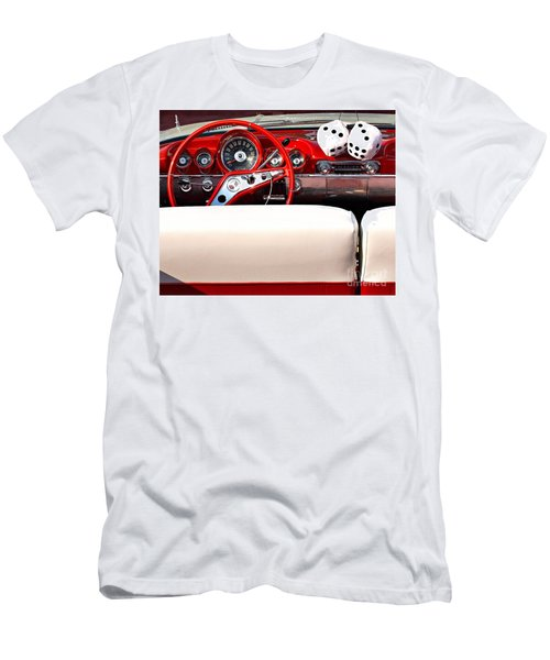 Drive-in Lounge - 1960 Chevy Men's T-Shirt (Athletic Fit)