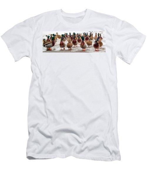 Duckorama Men's T-Shirt (Athletic Fit)