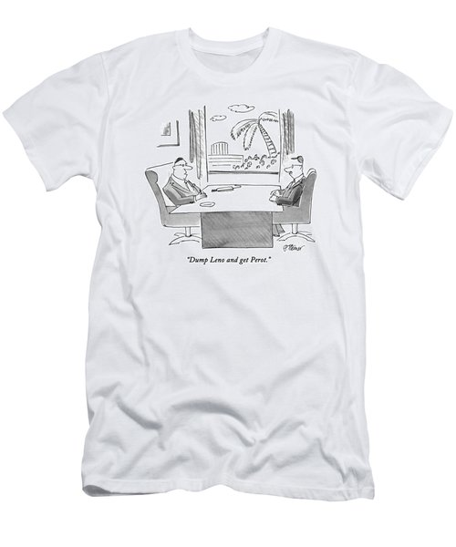 Dump Leno And Get Perot Men's T-Shirt (Athletic Fit)