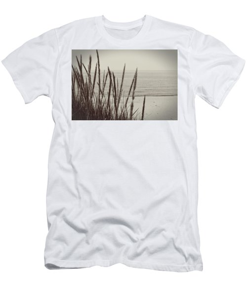 Dune Grass In Early Spring Men's T-Shirt (Athletic Fit)