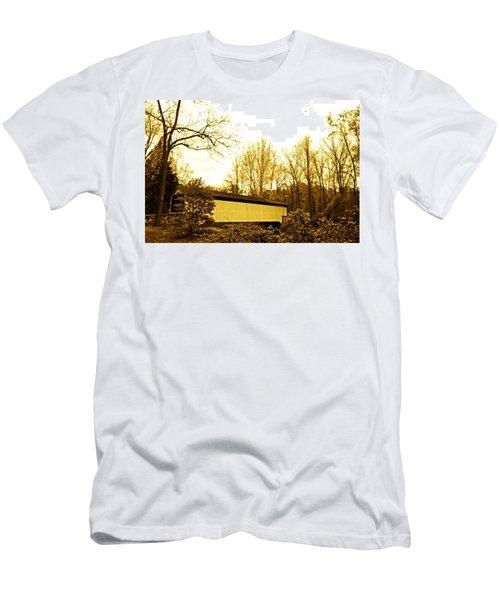Dusk At The Bridge Men's T-Shirt (Athletic Fit)