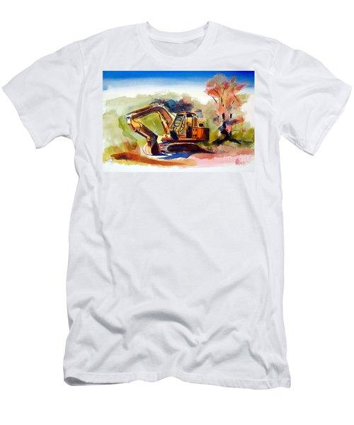 Duty Dozer II Men's T-Shirt (Slim Fit) by Kip DeVore