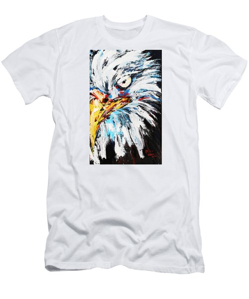 Eagle Men's T-Shirt (Slim Fit) by Patricia Olson