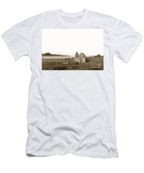 Early Carmel Mission And Point Lobos California Circa 1884 Men's T-Shirt (Athletic Fit)