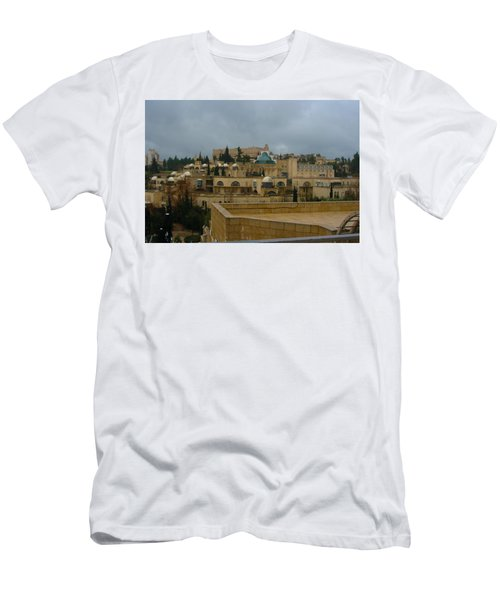 Men's T-Shirt (Slim Fit) featuring the photograph Early Morning In Jerusalem by Doc Braham