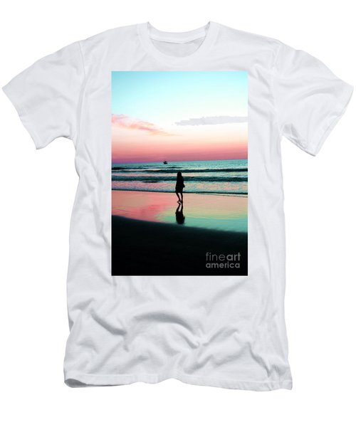Early Morning Stroll Men's T-Shirt (Slim Fit) by Dan Stone