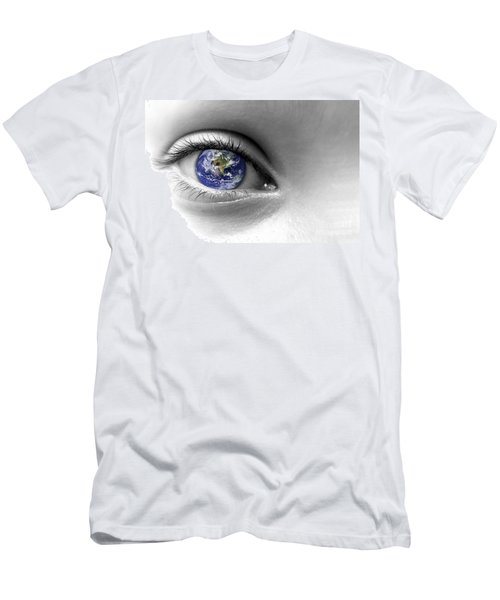 Earth Eye Men's T-Shirt (Athletic Fit)