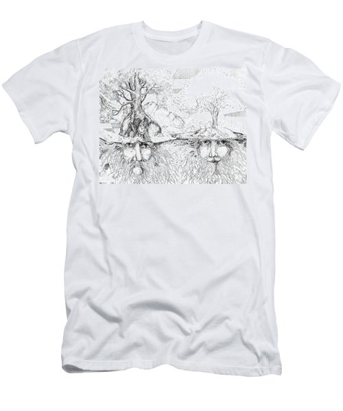 Earth People Men's T-Shirt (Athletic Fit)