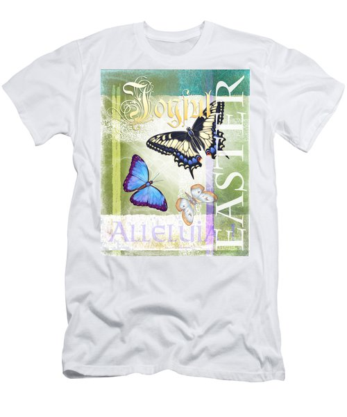 Easter Alleluia Men's T-Shirt (Slim Fit)