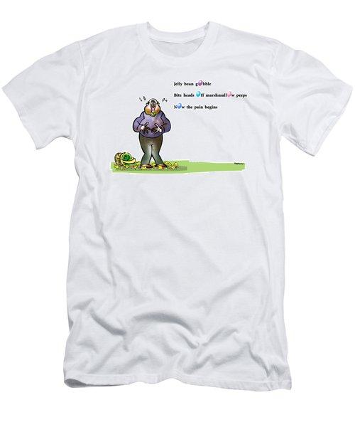 Easter Haiku Men's T-Shirt (Athletic Fit)
