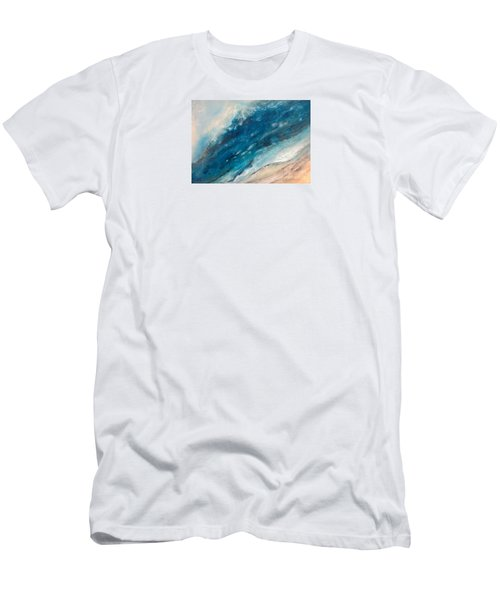 Ebb And Flow Men's T-Shirt (Slim Fit) by Valerie Travers