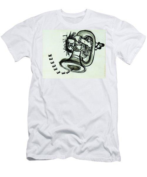 Eeeeeeek! Ink On Paper Men's T-Shirt (Athletic Fit)