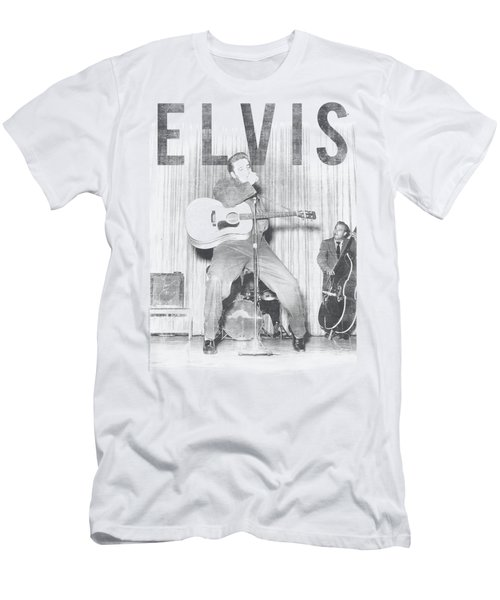 Elvis - With The Band Men's T-Shirt (Slim Fit) by Brand A