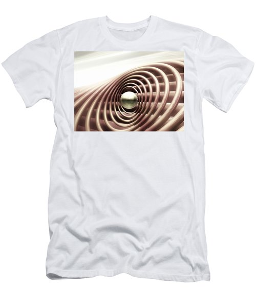 Men's T-Shirt (Slim Fit) featuring the digital art Emanate by John Alexander