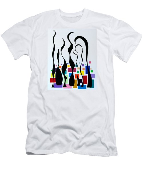 Embracing Men's T-Shirt (Slim Fit) by Thomas Gronowski
