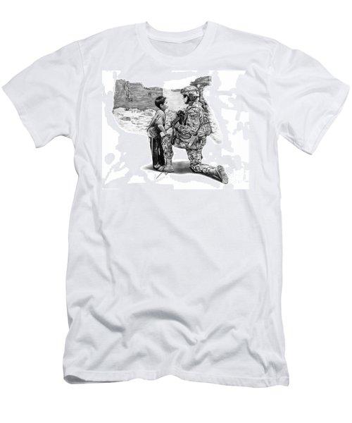 Empty Pockets  Men's T-Shirt (Athletic Fit)