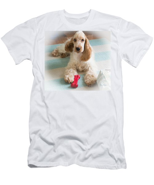 English Cocker Spaniel - Orange Roan Color Men's T-Shirt (Athletic Fit)