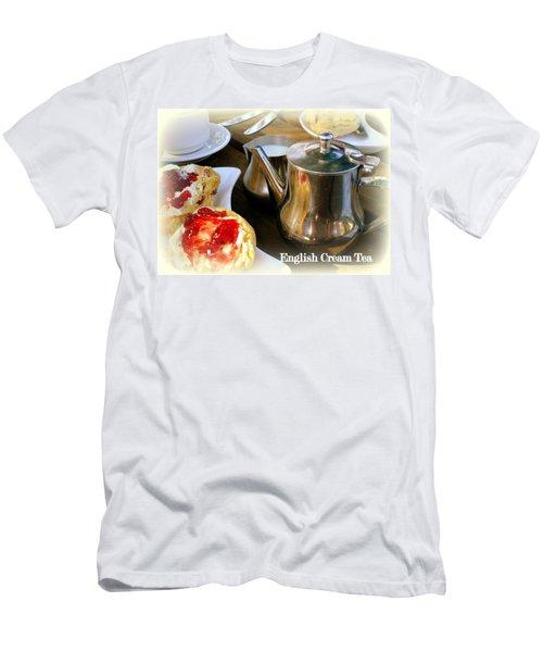 English Cream Tea Men's T-Shirt (Athletic Fit)