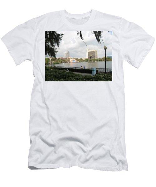 Eola Park In Orlando Men's T-Shirt (Athletic Fit)