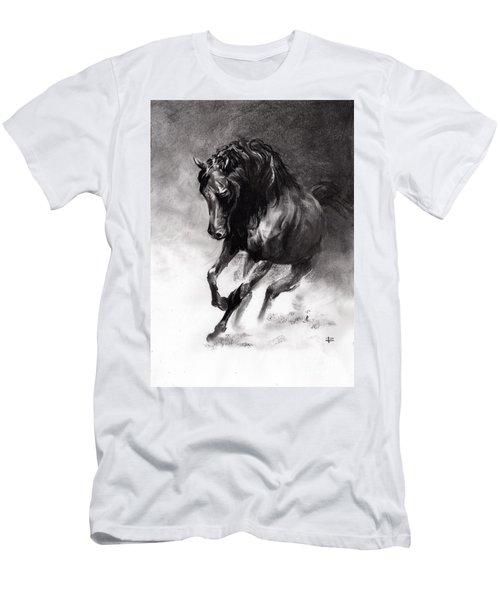 Equine Men's T-Shirt (Slim Fit) by Paul Davenport