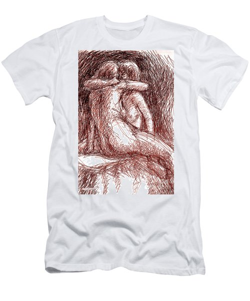 Erotic Drawings 19-2 Men's T-Shirt (Athletic Fit)