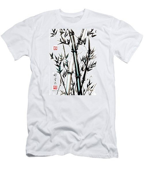 Men's T-Shirt (Slim Fit) featuring the painting Essence Of Strength by Bill Searle