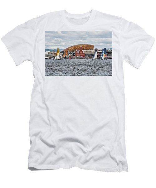 Extreme 40 At Cardiff Bay Men's T-Shirt (Athletic Fit)