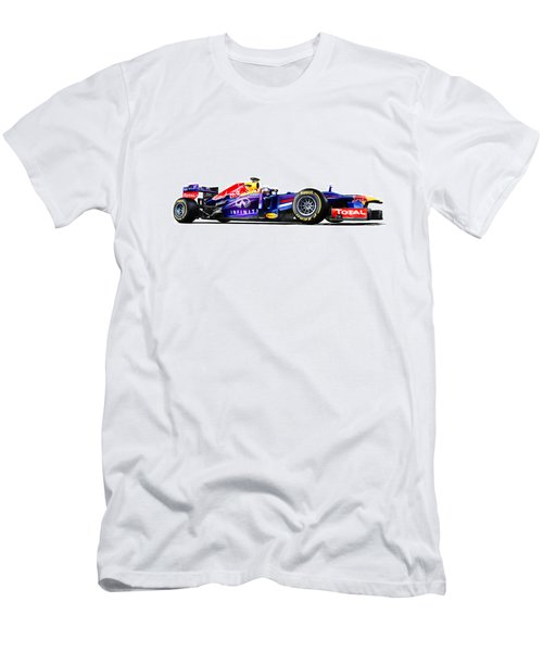 F1 Red Bull Rb9 Men's T-Shirt (Athletic Fit)
