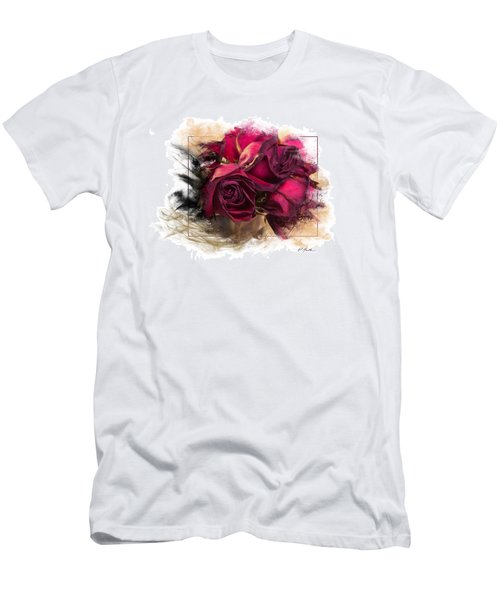 Fading Roses Men's T-Shirt (Athletic Fit)
