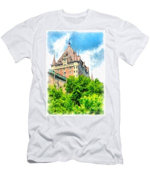 Fairmont Le Chateau Frontenac Men's T-Shirt (Athletic Fit)