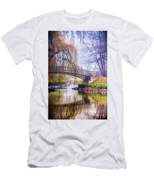 Fairytale Bridge Men's T-Shirt (Athletic Fit)